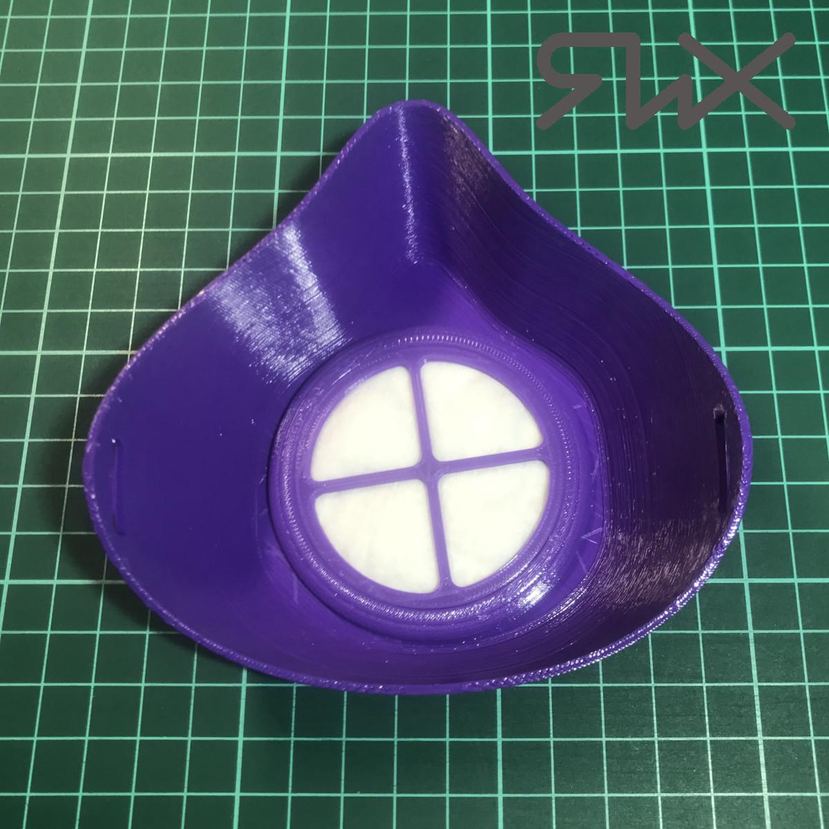 Защитная маска на 3Д принтере