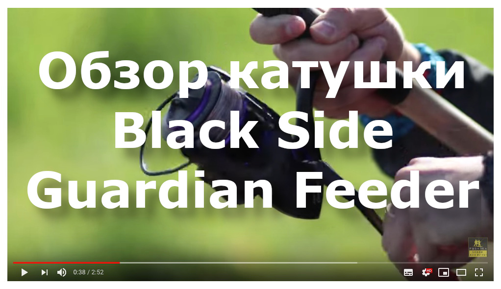 Обзор катушки Black Side Guardian Feeder